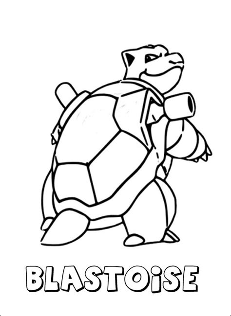 pokemon coloring pages of blastoise blastoise coloring pages blastoise coloring page pokemon