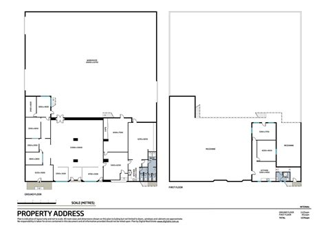 floor plan of warehouse commercial real estate floor plans digital real estate
