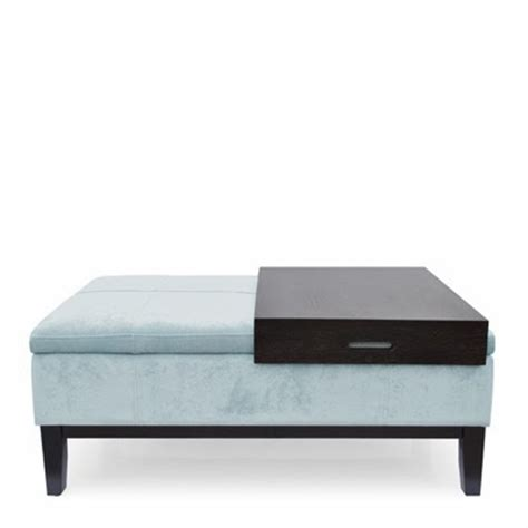 teal ottoman coffee table nautical by nature my apartment new ottoman coffee table