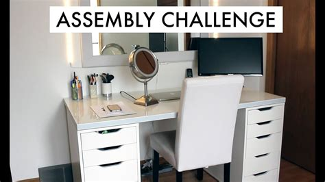 Ikea Alex Drawer Assembly Challenge