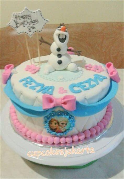 buat kue ulang tahun frozen 7 cake ulang tahun frozen cantik buat anak perempuan