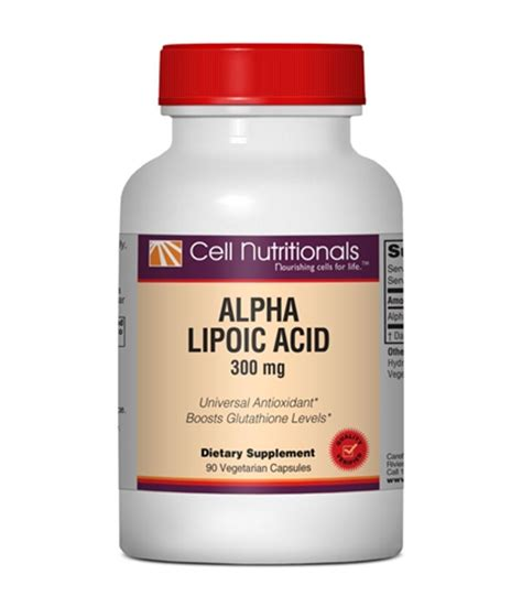Alpha Lipoic Acid Brain Detox by Alpha Lipoic Acid Supplements For Eye Vision Health