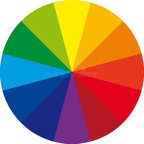 basic color wheel basic color wheel royalty free stock photos image 13326728