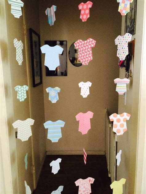At Home Baby Shower Ideas by Best 25 Baby Shower Decorations Ideas On