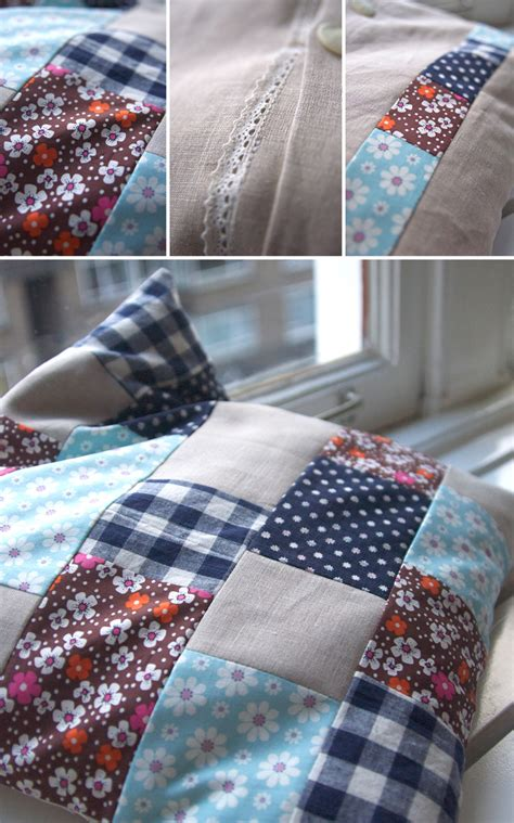 Patchwork Pillowcase - patchwork pillow 171 bypetra