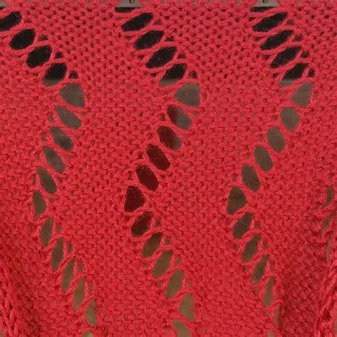lace zig zag knitting pattern lace hand manipulated stitch pattern for machine