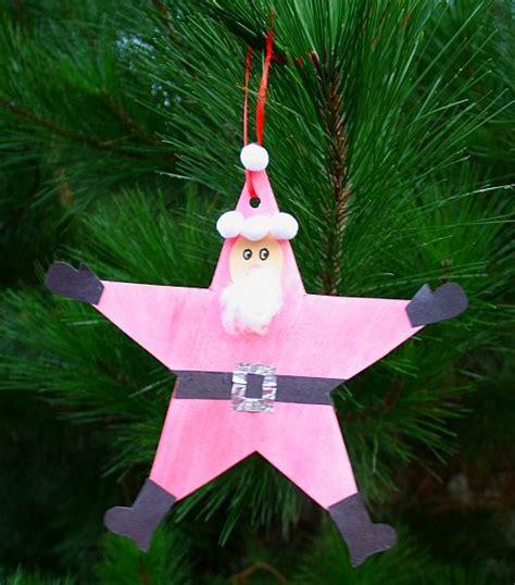 christmas crafts  kids santa star homemade christmas