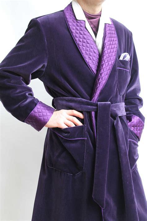 robe de chambre homme soie robe de chambre classique pour homme en velours 100