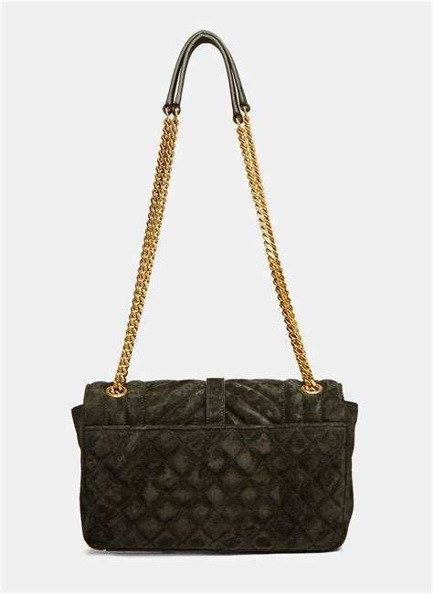 Ysl Quilted Bag by Laurent S College Ysl Monogrammed Suede