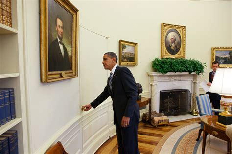 oval office paintings file president barack obama opens the door of the oval