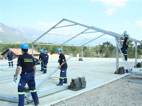 tenda protezione civile tende polifunzionali strutture polifunzionali
