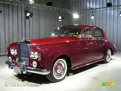 bentley burgundy 1965 burgundy regal red bentley s3 lhd 54020 gtcarlot