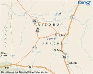 concho arizona map concho valley arizona