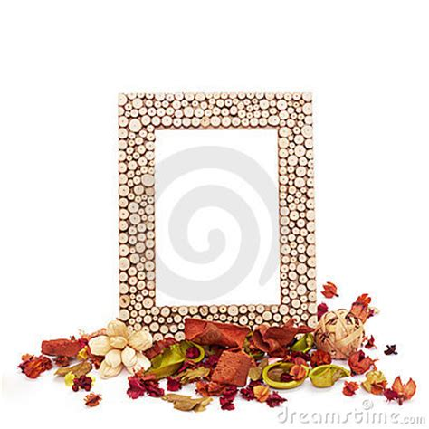 Bilder Aus Getrockneten Blättern by Leerer Bilderrahmen Mit Getrockneten Blumen Und Bl 228 Ttern
