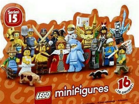 Lego Minifigures Series 15 Tribal 71011 lego collectible minifigures series 15 71011 characters