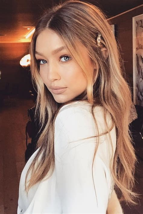 Live From New Yorkwhere I Am My Hair Blo by Gigi Hadid Reveals The Trick She Uses To