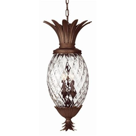 Pineapple Light Fixtures Plantation Exterior Suspension From Lightology