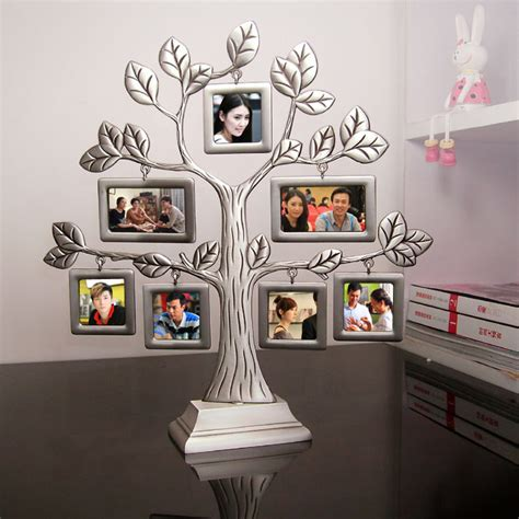 family gifts new fashion family tree metal photo frame lovely creative