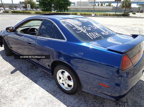 2001 honda accord ex coupe 2 door 2 3l