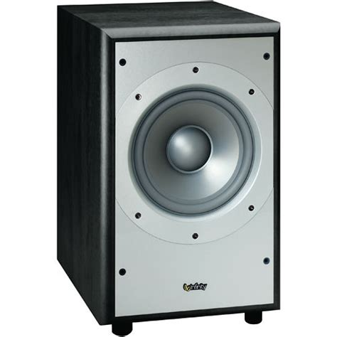 infinity powered subwoofer infinity ps28 8 quot powered subwoofer black ps28bk b h photo