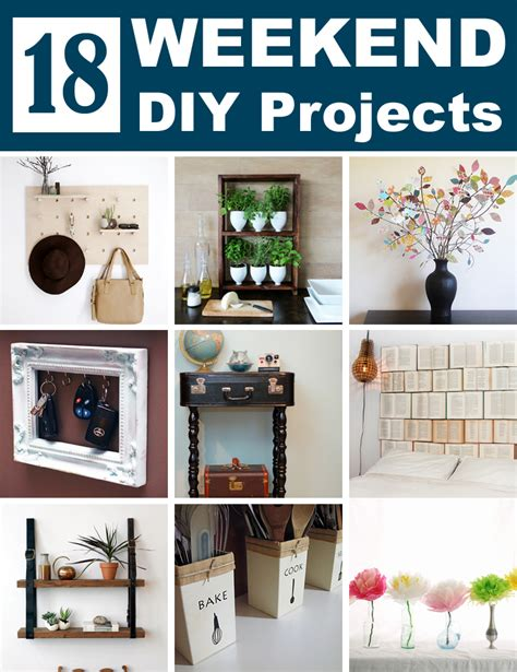 top diy weekend projects 18 easy diy projects you need to try this weekend