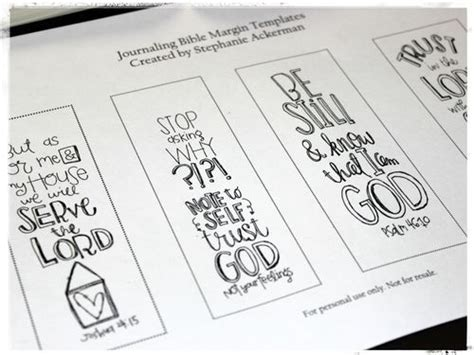 bible journaling templates homegrown hospitality journaling in the margins free