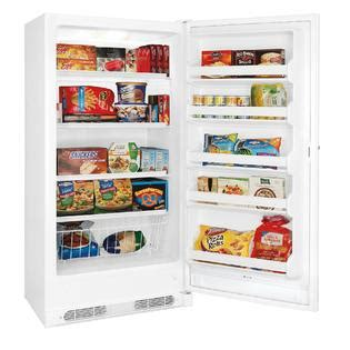 Standing Freezer Sharp kenmore 16 6 cu ft upright freezer free storage