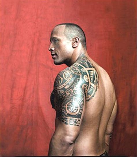 dwayne johnson tattoo shoulder the rock tattoo picture at checkoutmyink com
