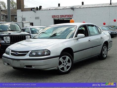 impala silver 2003 chevrolet impala in galaxy silver metallic 257902
