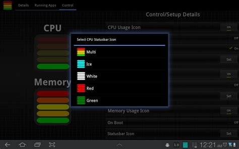 android cpu usage the tablet cpu usage monitor android apps on nonesearch