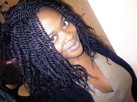 Kinky Twist For Black Women | kinky twist hairstyles beautiful hairstyles