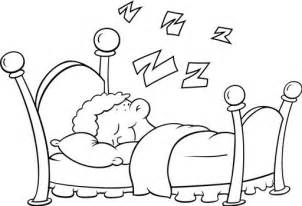 sleeping coloring page sleep free coloring pages coloring pages