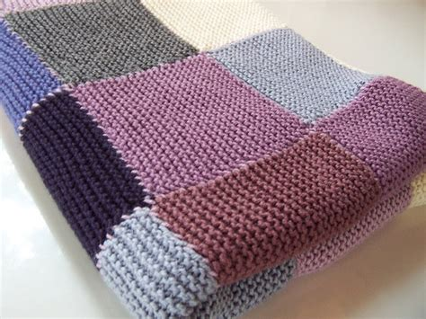 Free Knitted Patchwork Blanket Patterns - 33 best images about baby blankets on