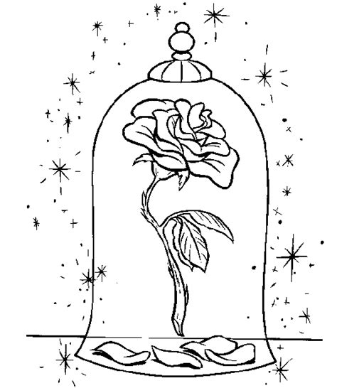 disney beauty and the beast coloring pages to print disney beauty and the beast coloring page