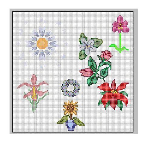 schemi di fiori a punto croce schemi punto croce fiori donnee it