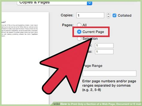 how to print a section of a web page 3 ways to print only a section of a web page document or