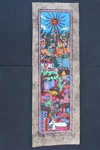 Mexican Wall Decor by Mexican Amate Bark Painting Wall Decor Wall Hanging