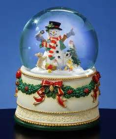 hallmark extra large snow globes inc musical santa with snowman water globe materials resin glass water size 5 5 quot h x 4