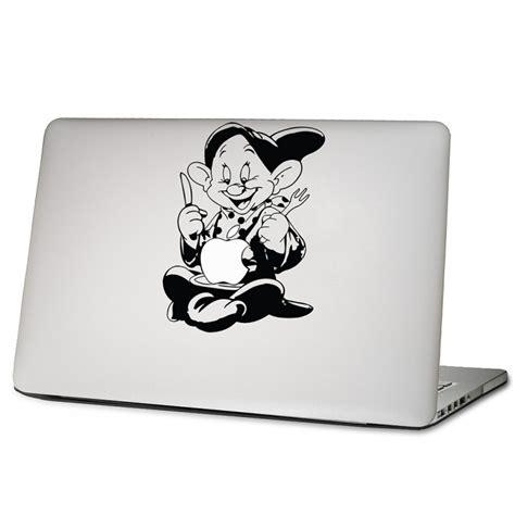Apple Computer Aufkleber by Dopey Zwerge Isst Apfel Laptop Macbook Sticker Aufkleber