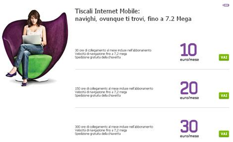 tiscali offerte mobile chiavette tiscali nuove offerte mobile estate 2011