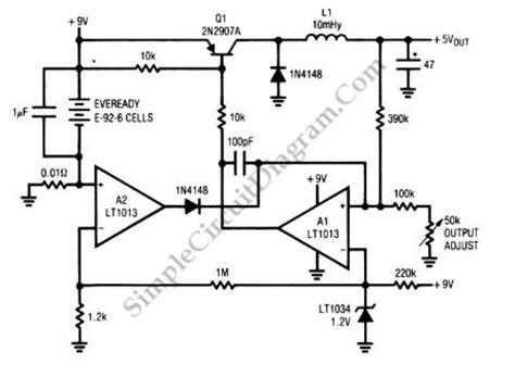 Ic Nr891d switching regulator circuit diagram circuit and schematics diagram