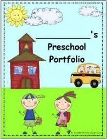 best photos of preschool portfolio templates preschool