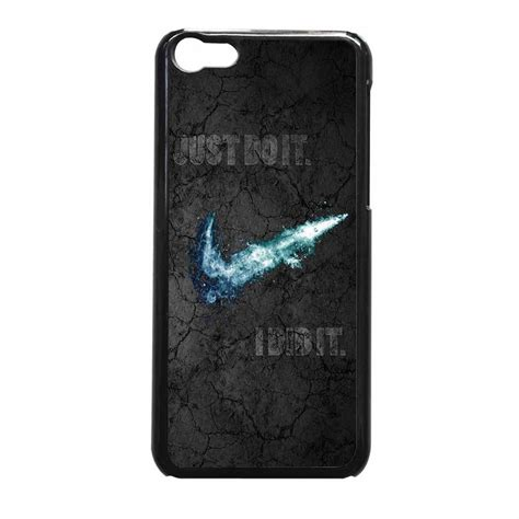 Iphone 5c Nike Just Do It White Hardcase Nike Just Do It Black Shadow Iphone 5c From Iphone Shop