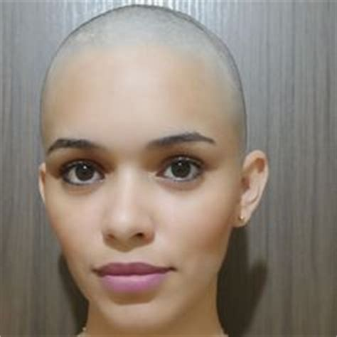 bald head round face black woman 1000 images about natural bald twa brush cuts fades