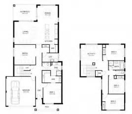 best 4 bedroom house plans best double storey 4 bedroom house designs perth apg homes