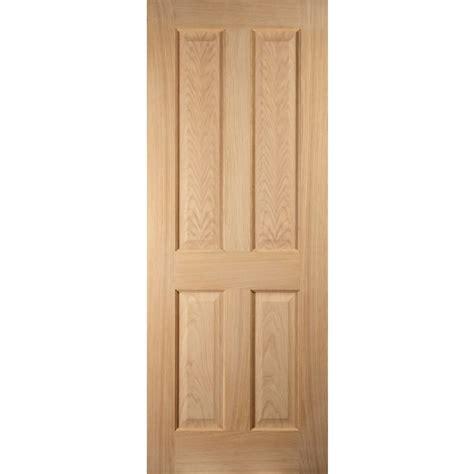 buy jeld wen 4 panel oak veneer interior door 1981 x 838mm
