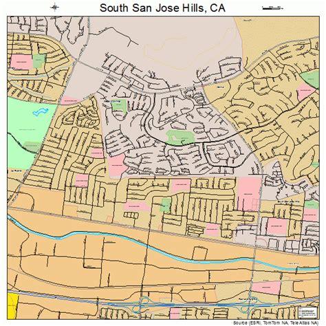 san jose south map south san jose california map 0673290