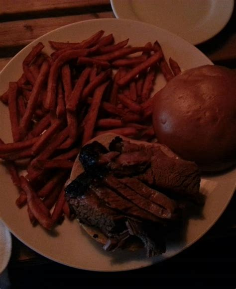 hot chips delivery near me brisket sandwich 13 50 served with sweet potato fries