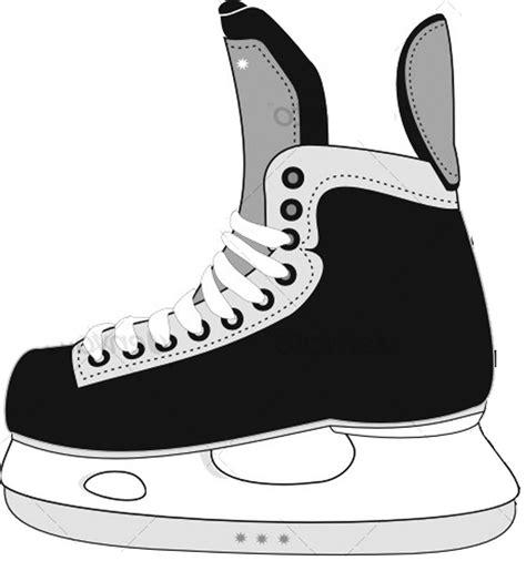 Best Photos Of Hockey Skate Template Ice Skate Template Printable Ice Skate Craft Template Bauer Skate Sizing Template