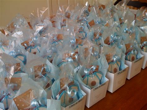 Favors For A Boy Baby Shower by Jaymbitions